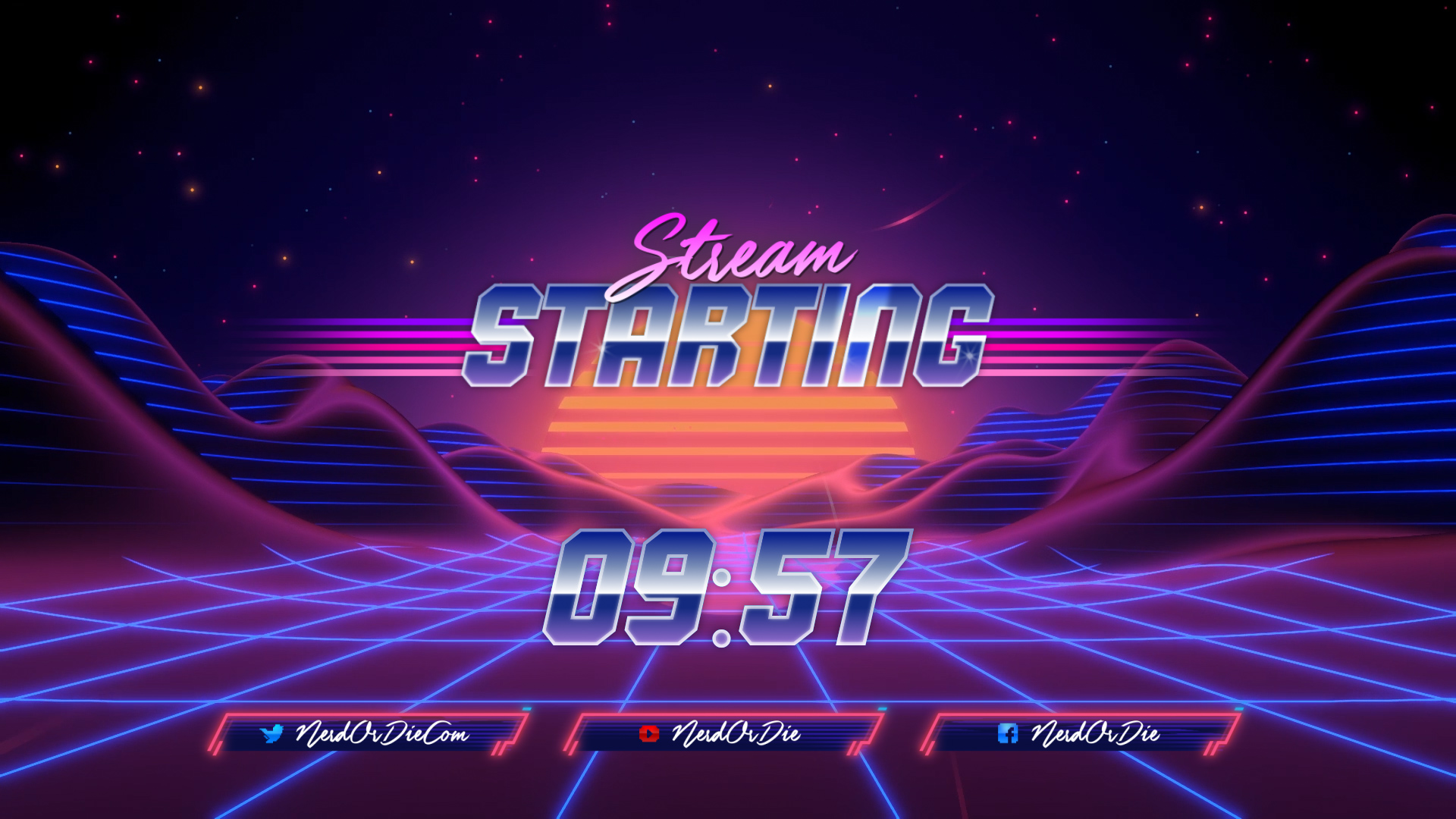Synthwave Stream Package