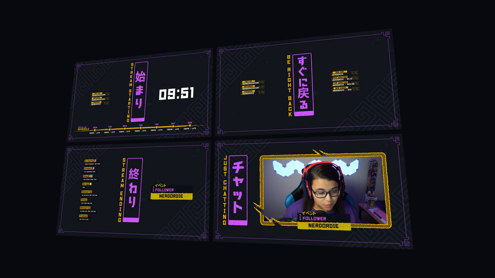 Showdown Stream Package Yellow